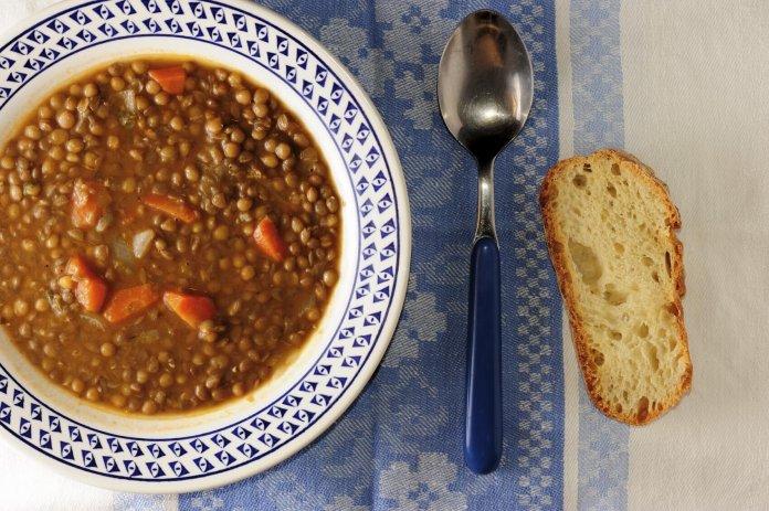 Sopa de Lentejas con Especias Marroquí Recipe Image