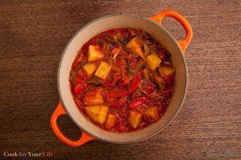 Potato & Pepper Stew Image
