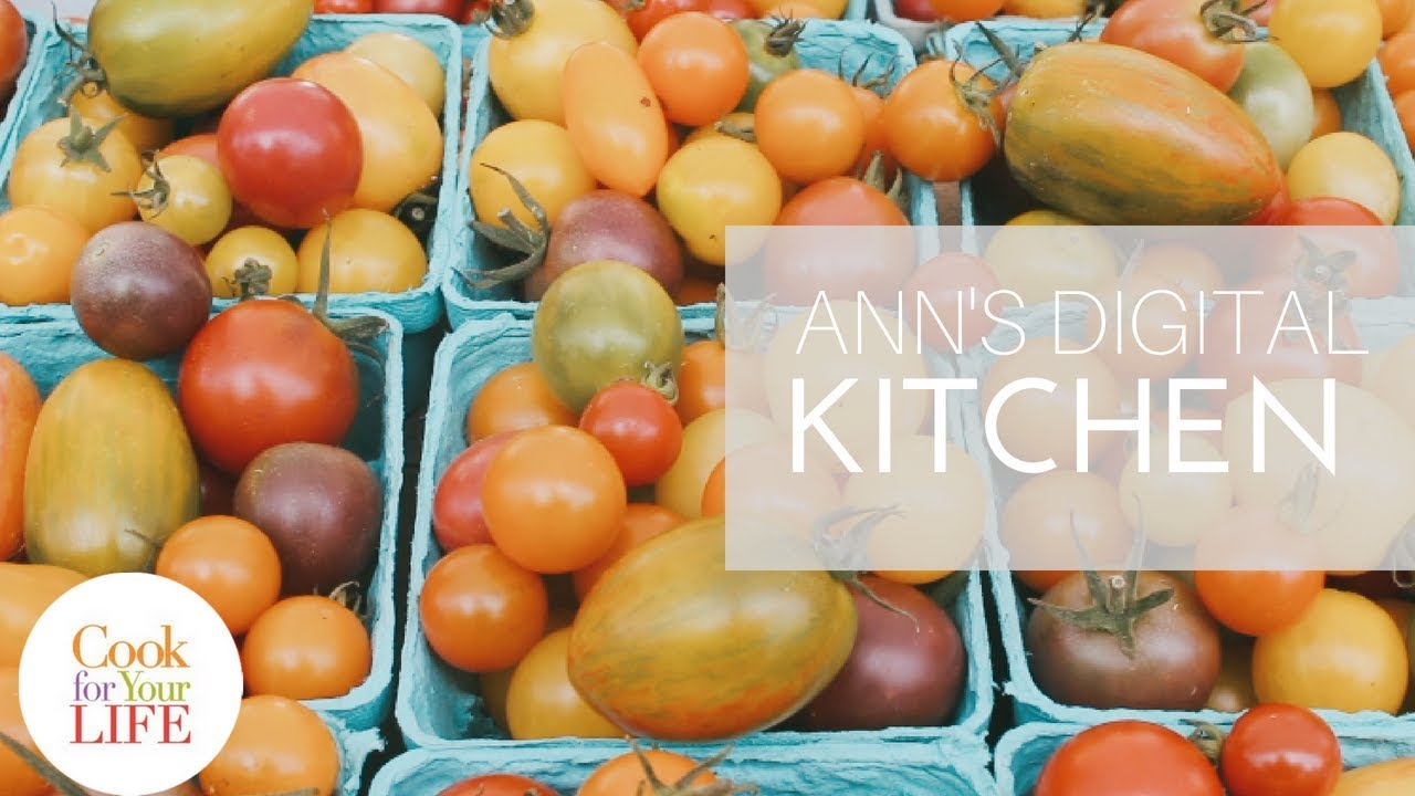 Ann's Digital Kitchen: Summer Tomatoes #Summerfoods Image