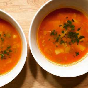 Mexican Style Leek and Potato Soup Recipe Image