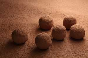 Chocolate Coconut Milk Truffles Recipe Image