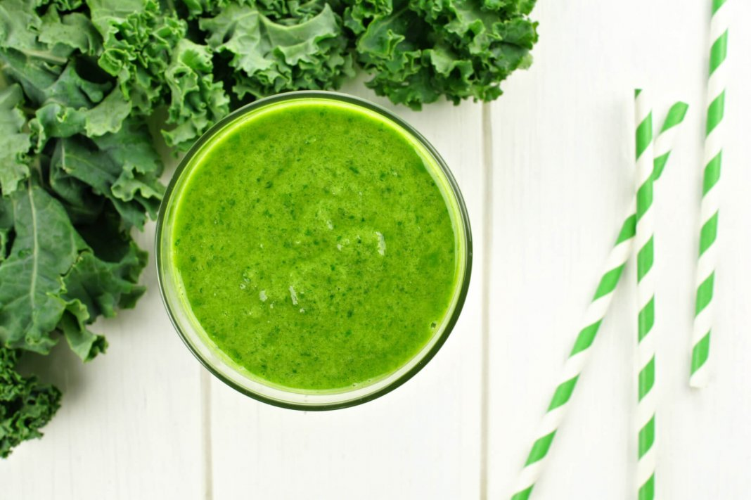 Quick & Easy Green Kale Smoothie Image