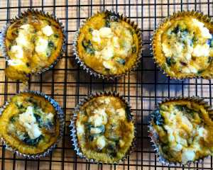 Swiss Chard Egg Muffins Recipe Image
