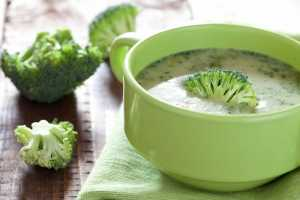 Broccoli & Almond Soup Recipe Image