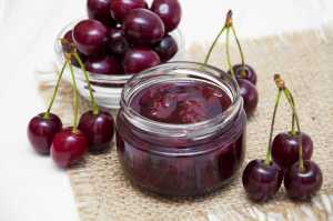 Cherry Compote Recipe Image