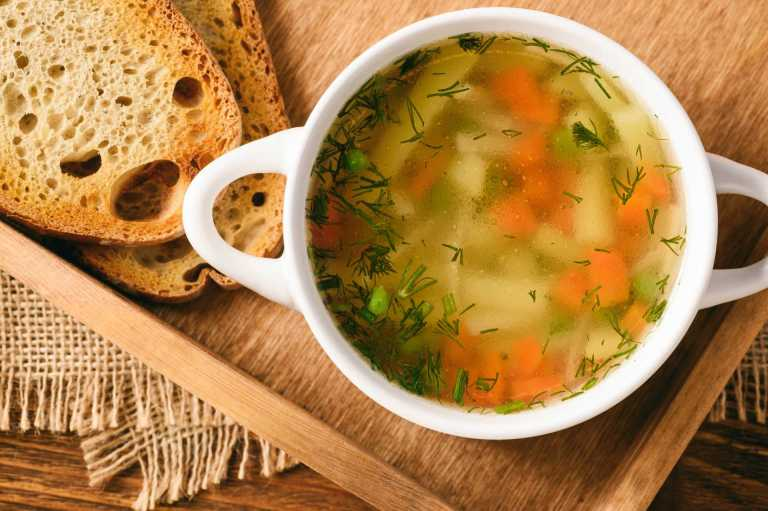 Chicken Soup With Dill Recipe Image