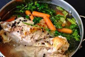 Poultry Bone Stock Recipe Image