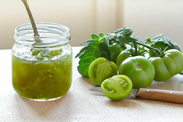 Green Tomato Chutney Recipe Image