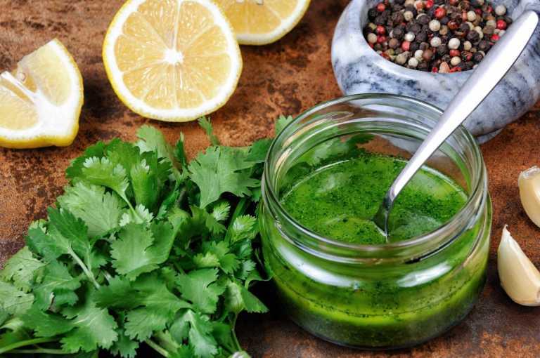 Lemon Cilantro Marinade Recipe Image