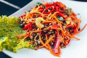 Lentil Salad With Cumin & Orange Vinaigrette Recipe Image