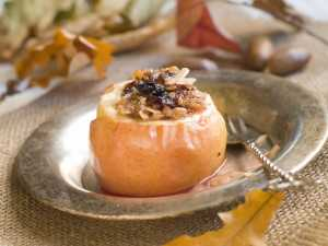 Simple Baked Apples Recipe Image
