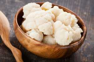 Simple Steamed Cauliflower Recipe Image