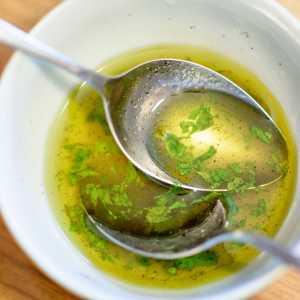 Spring Herb Vinaigrette Recipe Image