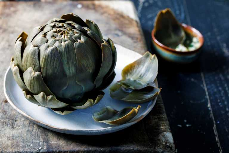 Steamed Artichokes Recipe Image