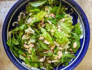 Simple Salad Almondine Recipe Image